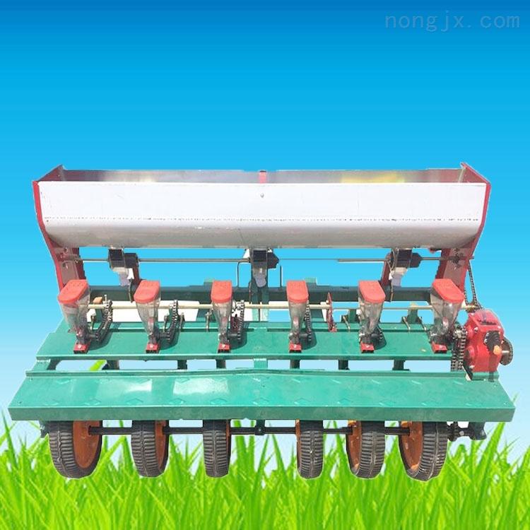 汽油六行蔬菜谷子播种机