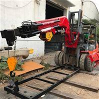 江门3.5吨叉车伸缩式飞臂吊机生产厂家