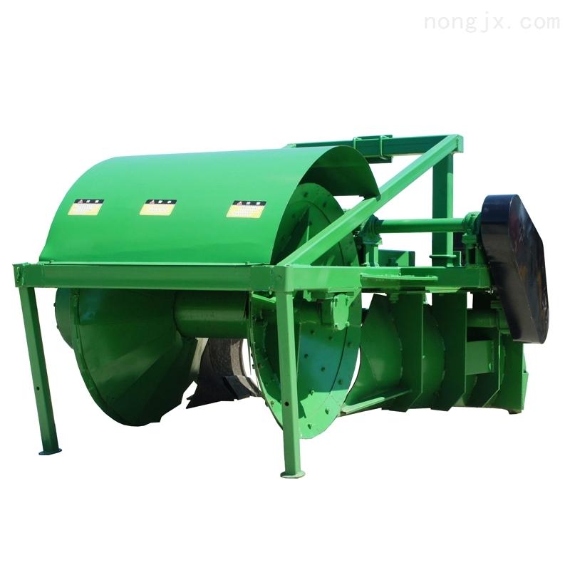 瓦力1ZG-350-拖拉机悬挂水田筑埂起垄机