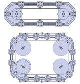 DTS精密环形导轨环形轨道系统一Hepco海普克