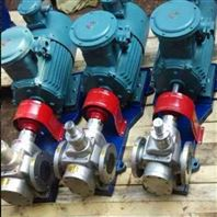 华潮YCB不锈钢圆弧泵食品级304材质齿轮油泵