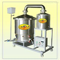 分体式蒸生熟料酿酒设备产酒率高