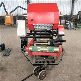 5552型秸秆粉碎包膜机 黄储牧草打包机 源头厂家