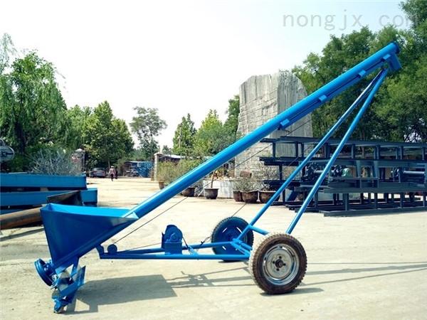 碳钢蛟龙式上料机,玉米螺旋式装车提升机