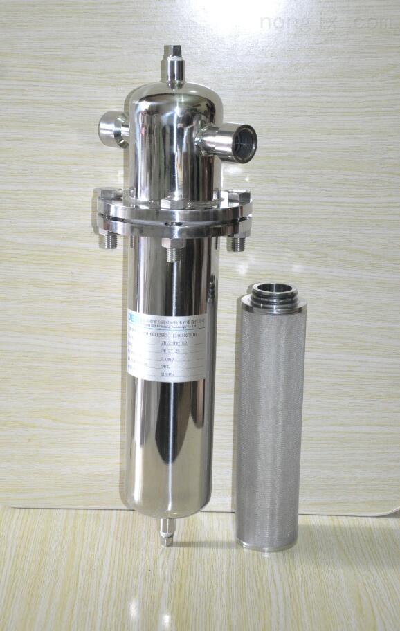 耐高温气体管道过滤器