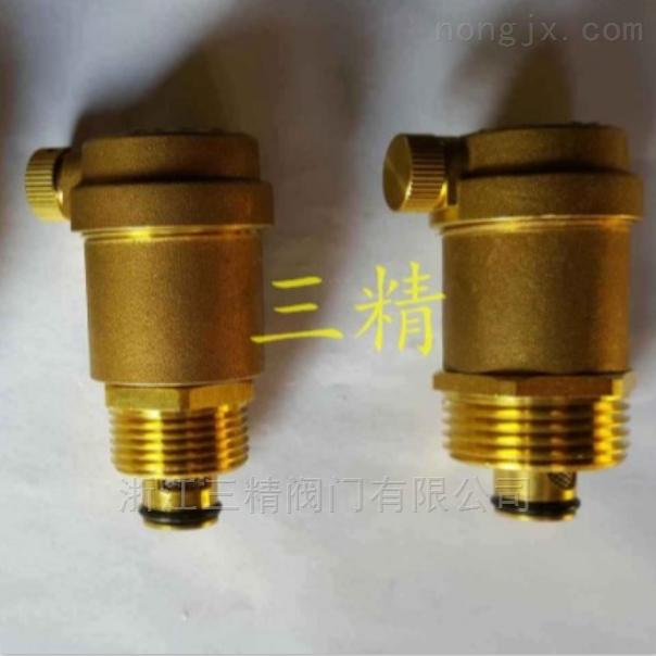 黄铜螺纹排气阀