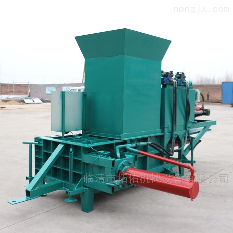 青贮牧草秸秆打包机 全自动饲料压块机 现货