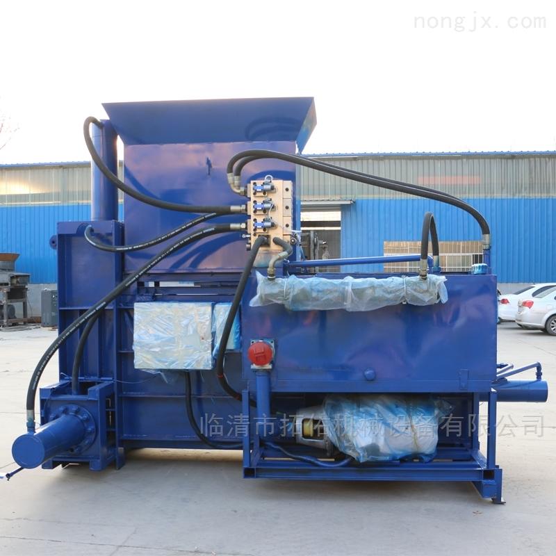 干草饲料打包机 养殖场全自动液压套袋机